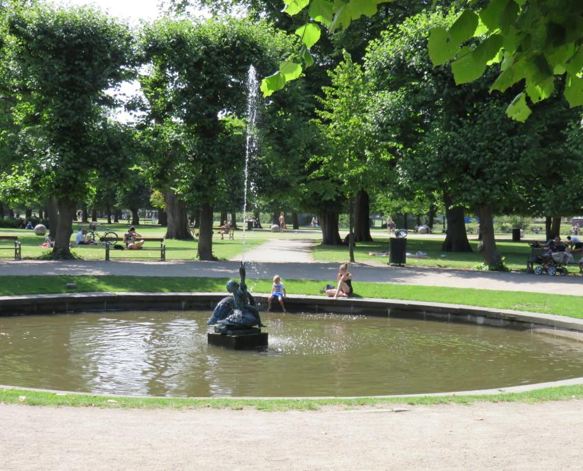 Kongens Have, Copenhagen, Denmark