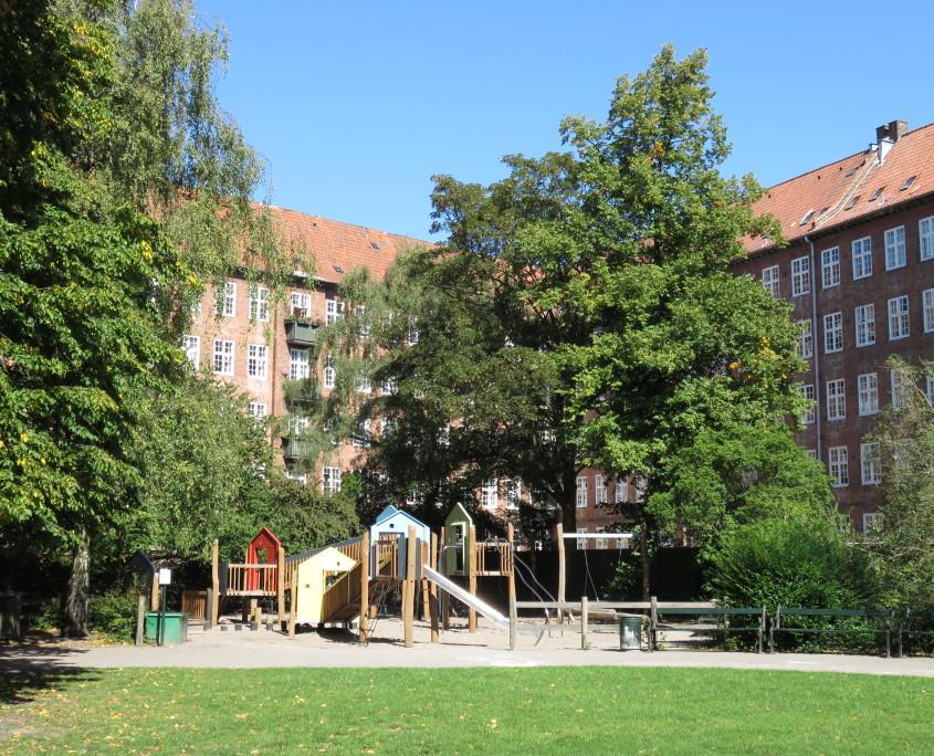 Classens Have, Copenhagen, Denmark