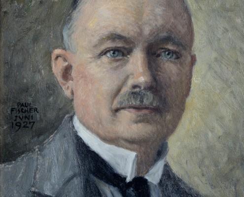 Paul Fischer - Self-portrait