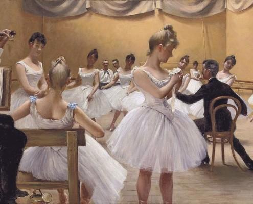 Poul Fischer. The Royal Theatre Ballet School, Copenhagen