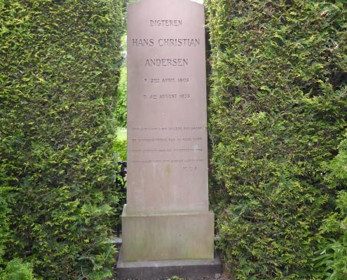 Tombstone of Hans Christian Andersen, Assistens Kirkegård, Copenhagen