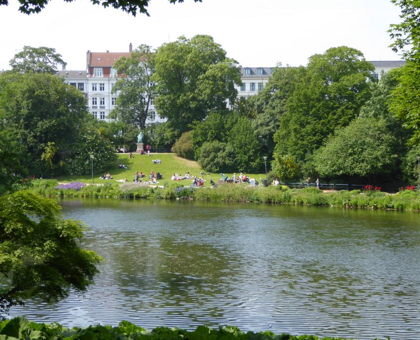 Ørstedsparken, Copenhagen, Denmark