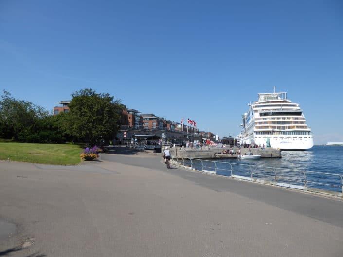 Langelinie Promenade, Copenhagen, Denmark
