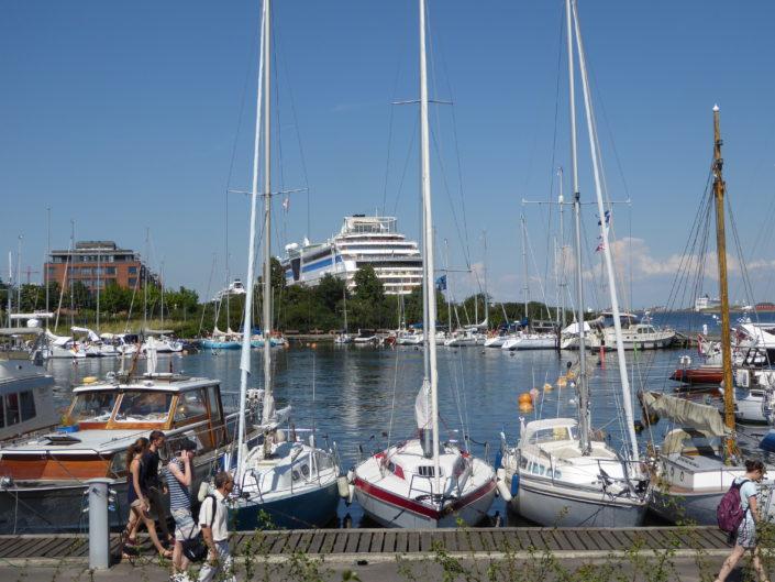 Langelinie marina, Copenhagen, Denmark
