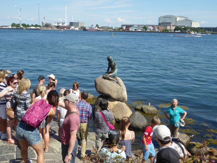 Langelinie - The Little Mermaid, Copenhagen, Denmark