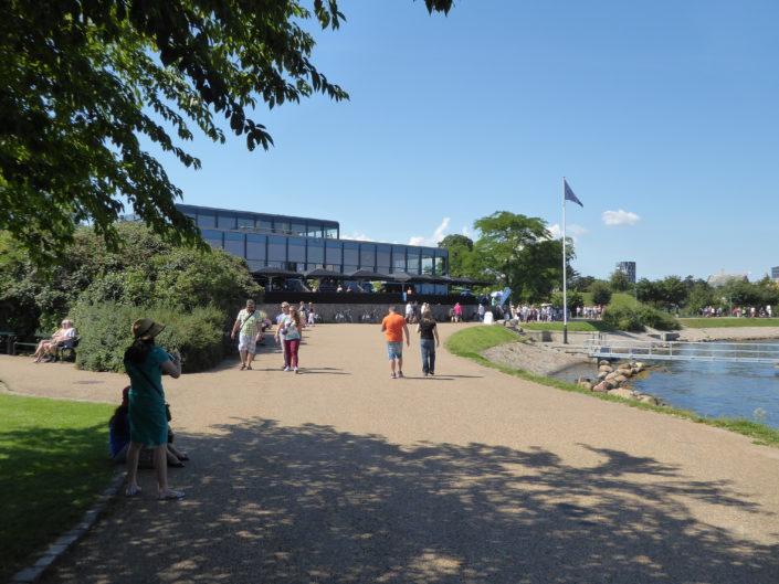 Langelinie promenade and the Langelinie Pavilion, Copenhagen, Denmark