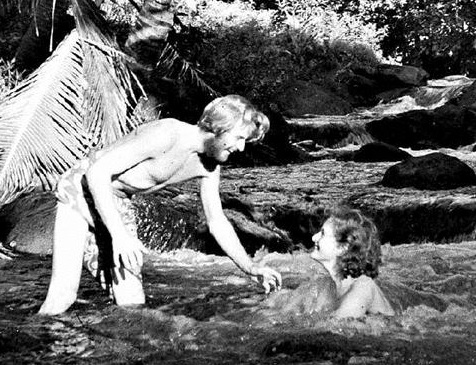 Thor og Liv Heyerdahl in Fatu Hiva