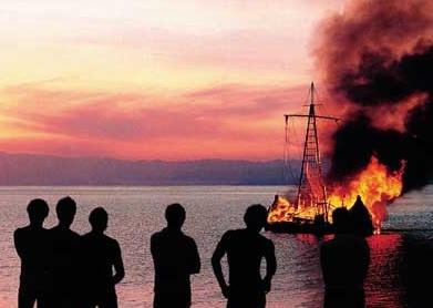 Tigris burning