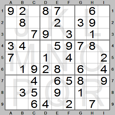 picture regarding Beginner Sudoku Printable known as Sudoku Guidelines Software - The software on your own desire in excess of