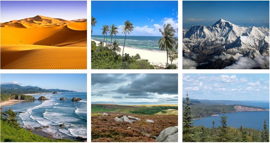 Natural Landscapes Our Unique Earth Ecstep